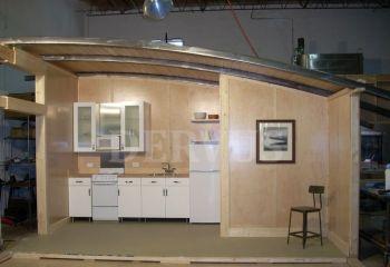 щитовой гостевой домик интерьер