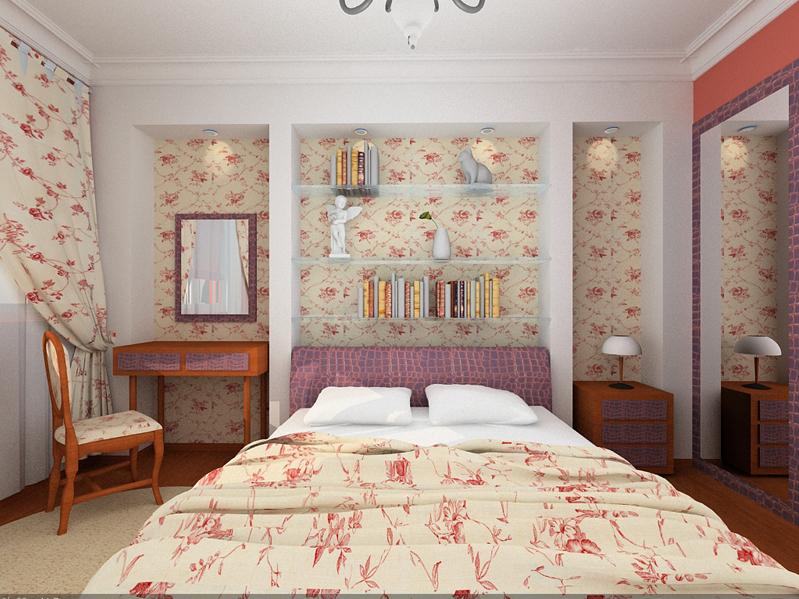 Дизайн для спальной комнаты