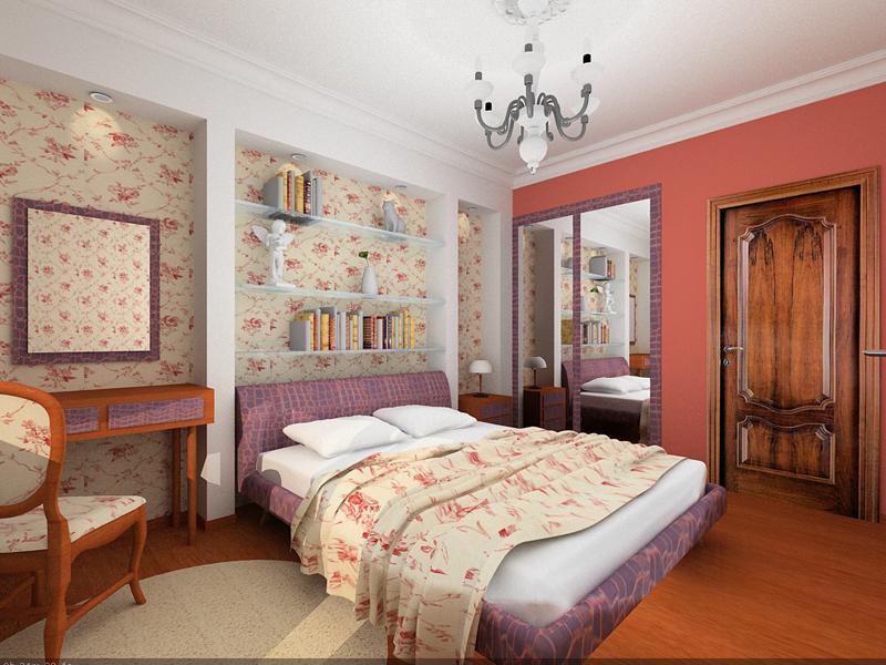 дизайн для небольшой современной спальни