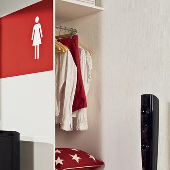 планировка однокомнатной квартире шкаф
