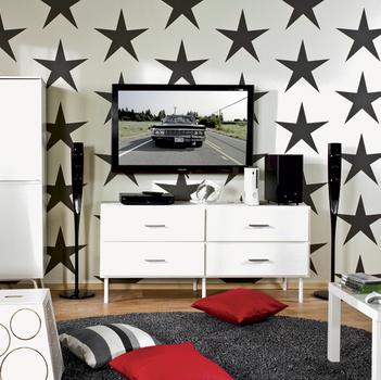 дизайн однокомнатной квартире кровать для мужчины