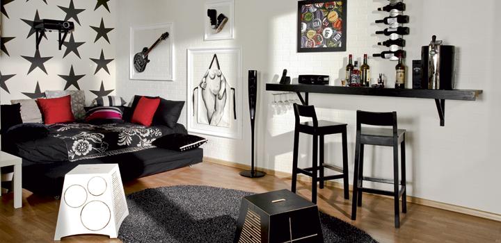 Дизайн однокомнатной квартире для молодого человека
