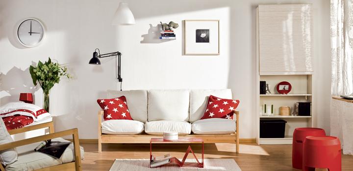 дизайн гостиная в однокомнатной квартире