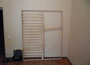Собираем Шкаф-кровать