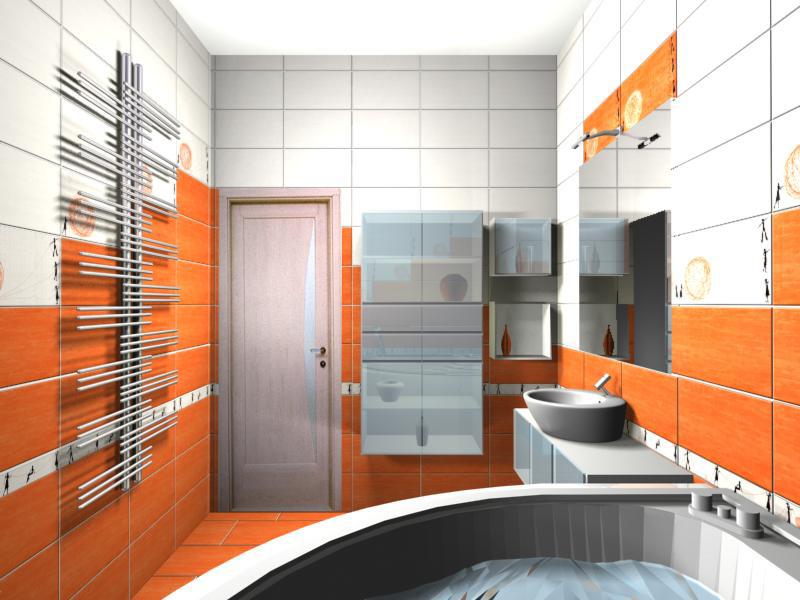 дизайн для ванной комнаты в розовых тонах