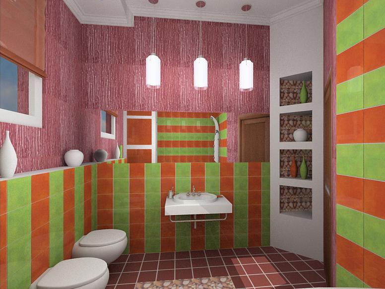 дизайн для небольшой совмещенной ванны