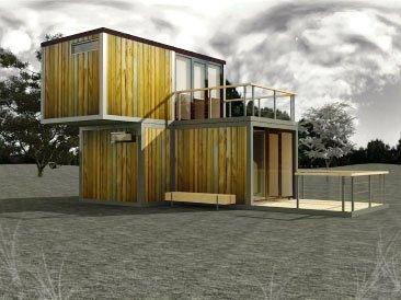 модульный дом из бытовок