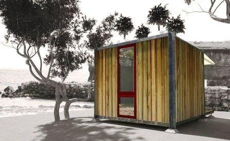 модульных дом из контейнеров