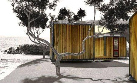 модульных дом из бытовок