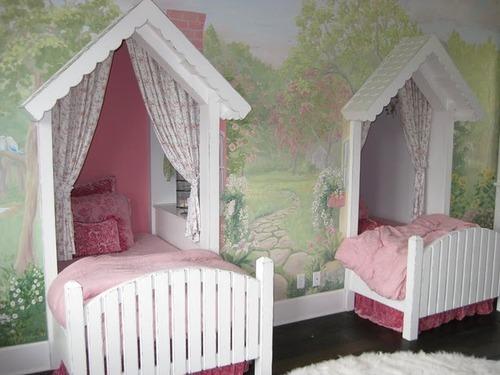 детской комнаты для девочек
