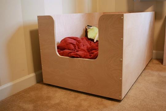 простая кроватка люлька