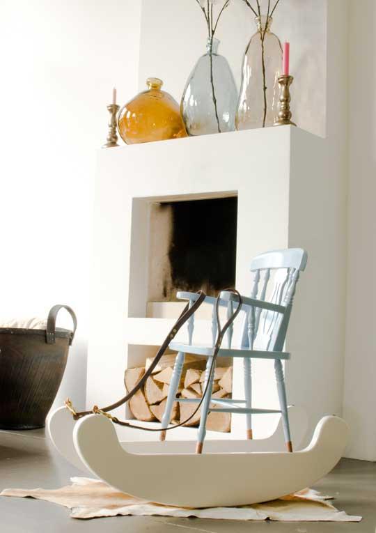 кресло качалка для детской комнаты