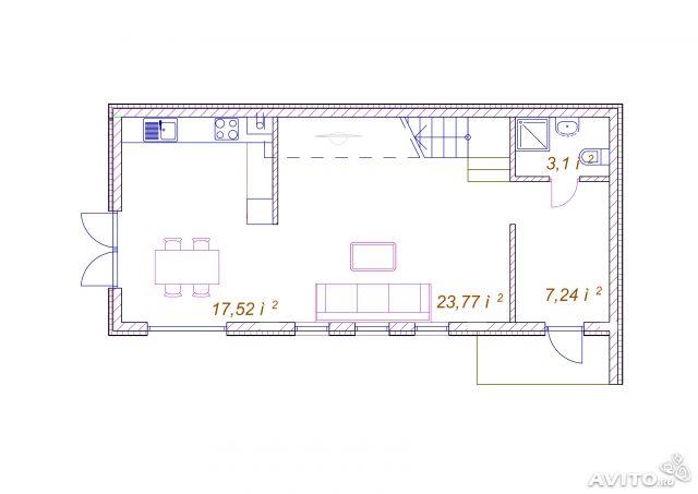 проект дома план
