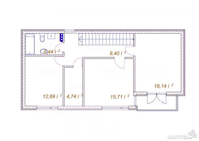 проект дома для небольшой земли