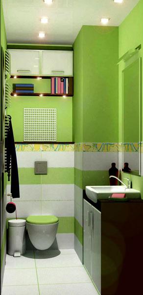 дизайн для уборной в 3-х комнатной квартире