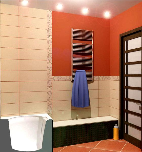 проект для ванной комнаты