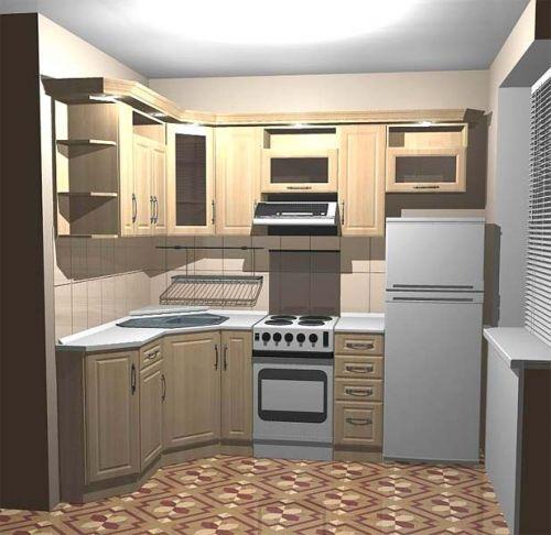 Дизайн маленькой кухни 9 кв.м фото