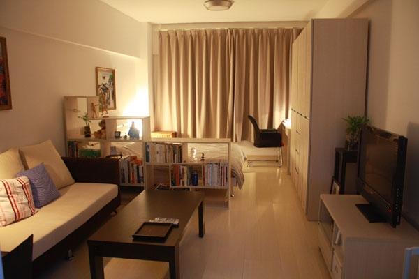 маленька квартира студия