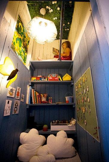 Игровая комната для детей из кладовки