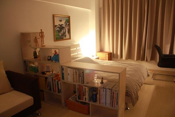 квартира студия спальня
