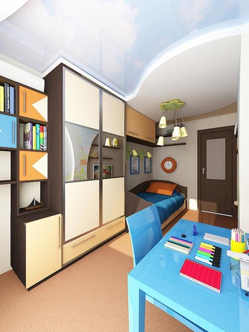 дизайн спальни в двухкомнатной хрущевки