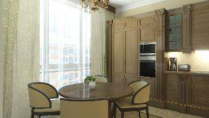 Дизайн трех комнатной квартиры кухня