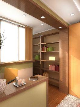дизайн-проект балкон