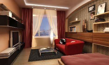 Зонируем комнату в однокомнатной квартире