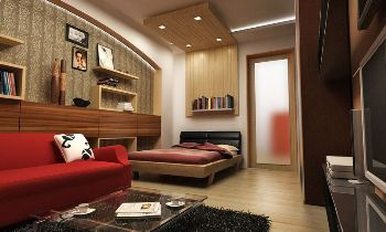 планируем пространство в однокомнатной квартире