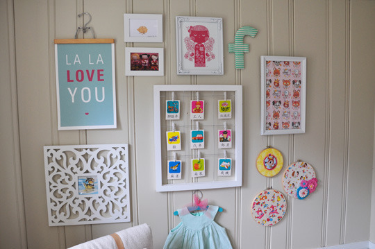маленькая детская комната укрошения