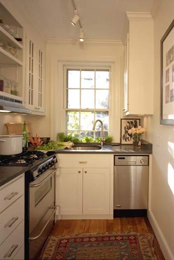 дизайн маленькая кухня
