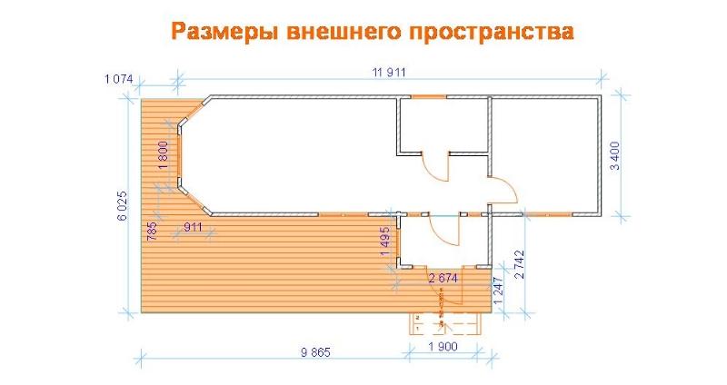 мобильный дом - план