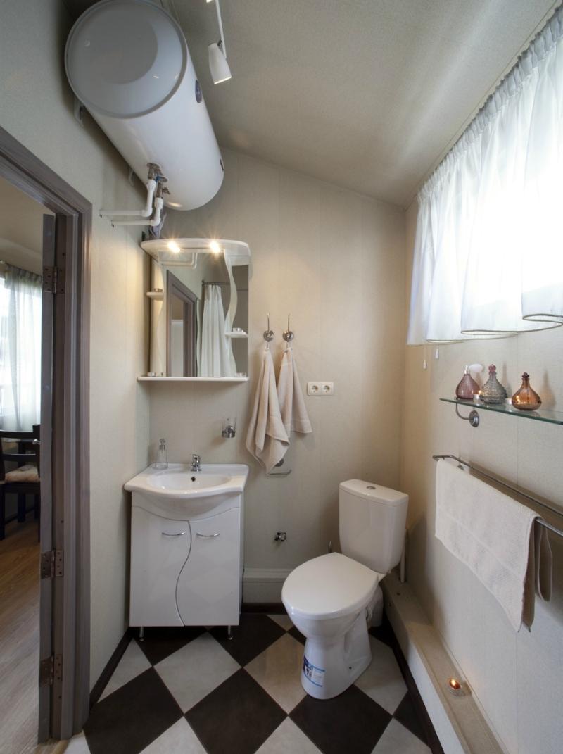 мобильный дом - ванная комната