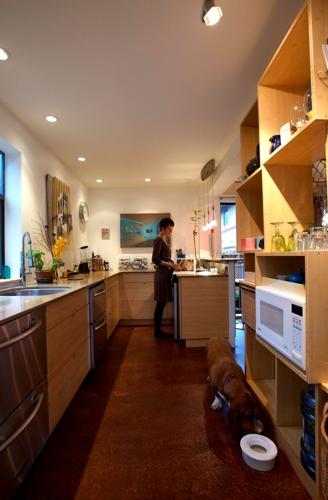 кухня дом из бытовок