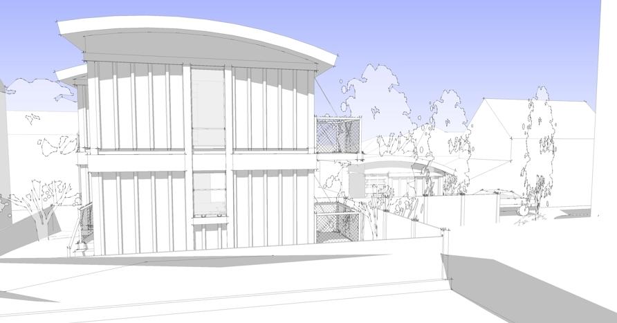 дом из бытовок 3d визуализация