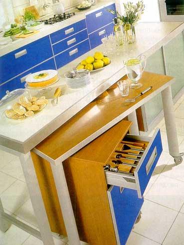 стол в маленькую кухню