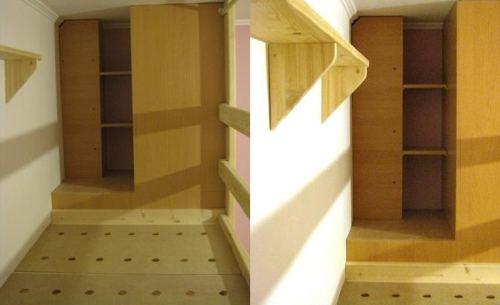 самодельный уголок двухъярусная кровать