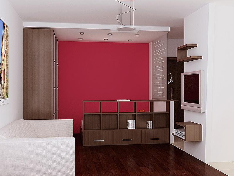 дизайн для однушки гостиная