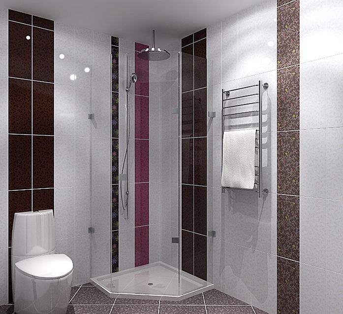 планировка для однушки ванная