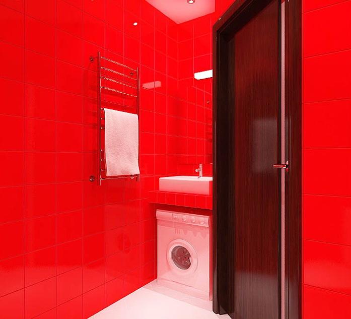 дизайн ванной для однушки