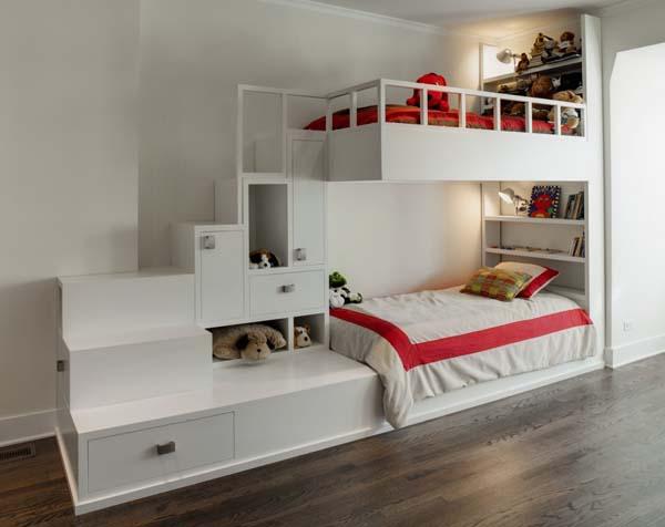 двух ярусная кровать для детей