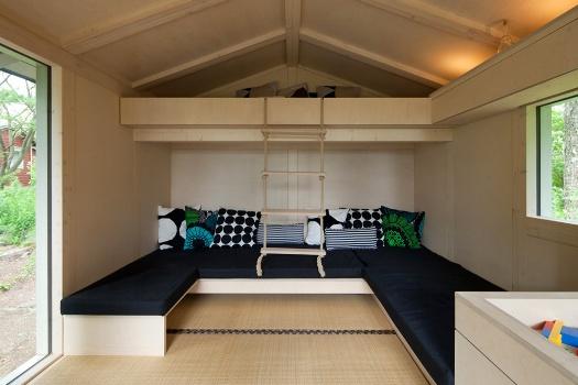 уютный маленький дом для дачи