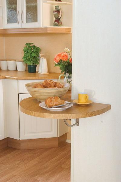 маленькая кухня столики