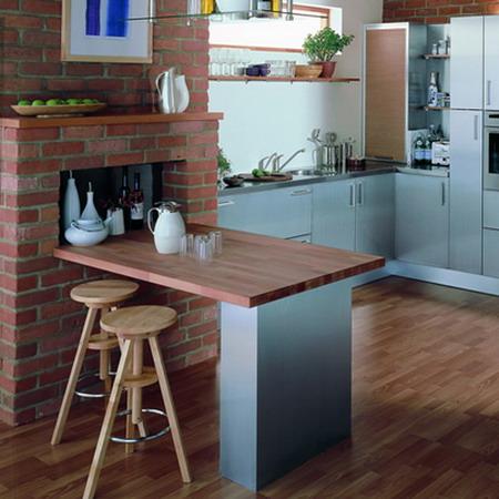 пространство на кухни
