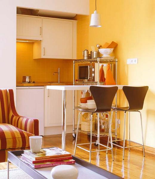 маленькая кухня и дизайн