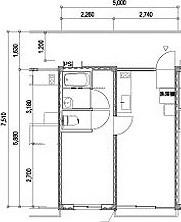 мобильный дом планировка