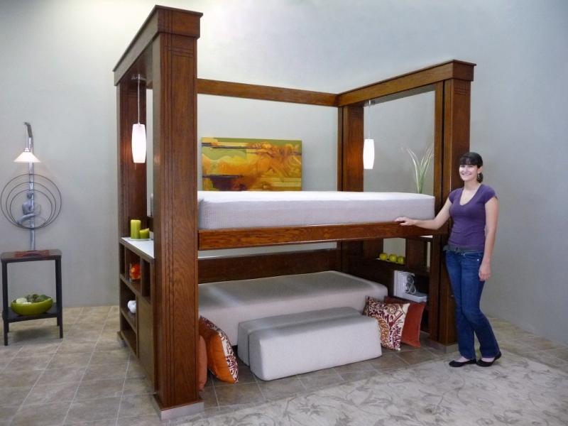 Подъемные кровати своими руками видео