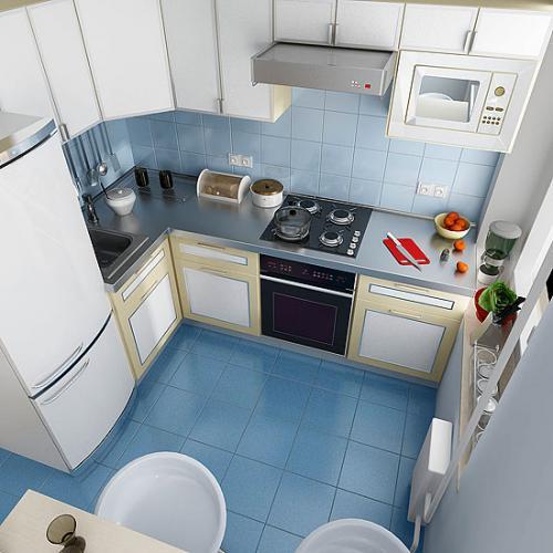 Дизайн для маленькой кухни в хрущевки