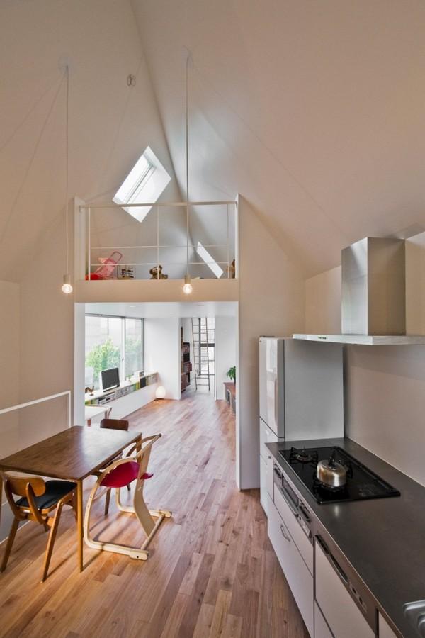 маленькая дом кухня