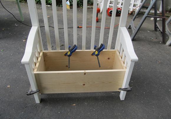 самодельная скамейка
